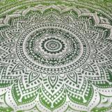 Flower Mandala Grön