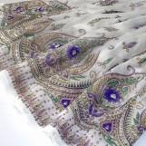 Bollywood kläder kjol Vit