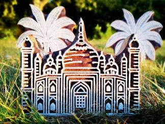 Indiska trästämplar Taj Mahal - Indisk trästämpel Taj Mahal