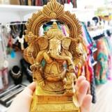 Ganesh, staty mässing