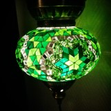 Orientalisk lykta Grön