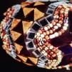 Orientalisk lykta Brun och guld Liten - Brun och guld