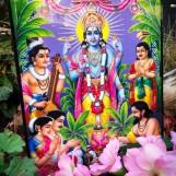 Tavla hinduiska gudar - Vishnu