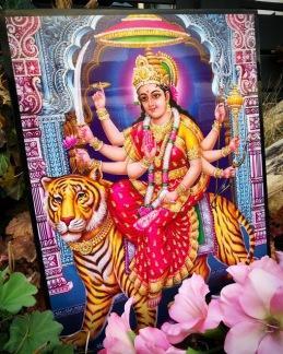Tavla hinduiska gudar - Durga - Durga