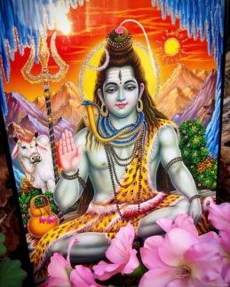 Tavla hinduiska gudar - Shiva - Shiva