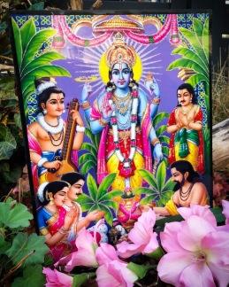Tavla hinduiska gudar - Vishnu - Vishnu