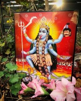 Tavla hinduiska gudar - Kali - Kali
