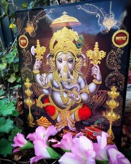 Tavla hinduiska gudar - Ganesh - Ganesh