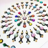 Bindi smycken stor karta - Pastell