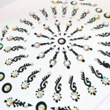 Bindi smycken stor karta - Orientaliska