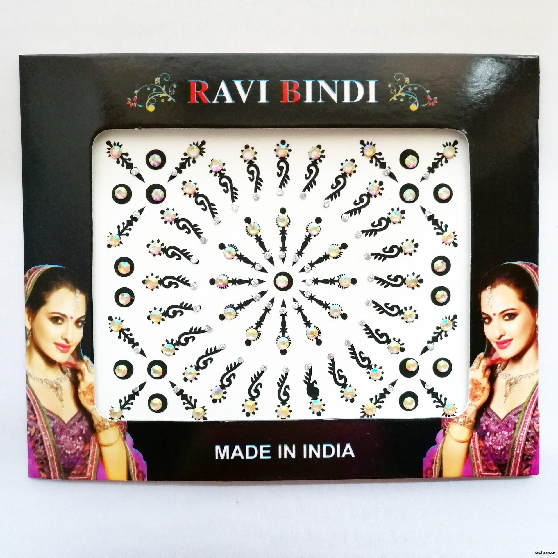 Ett orientaliskt/indiskt smycke med silverdetaljer för fest