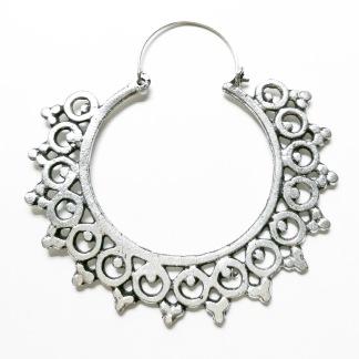 Örhängen Tribal cirkel silver - Tribal silver