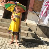 Indisk barnklänning - Anna flera färger