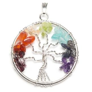 Livets Träd halsband Chakra - Livets träd Chakra