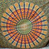 Mörkgrön Mandala