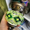 Orientalisk lykta Grön Liten - Grön