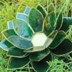 Stora lotusblommor ljuslykta - Chakra