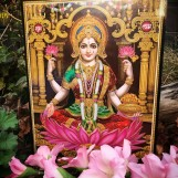 Tavla hinduiska gudar - Lakshmi
