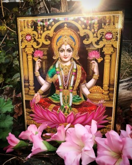 Tavla hinduiska gudar - Lakshmi - Lakshmi