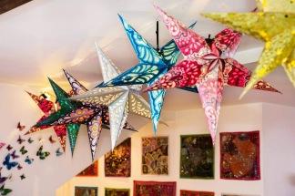 10-pack med Julstjärnor - Blandat 10-pack