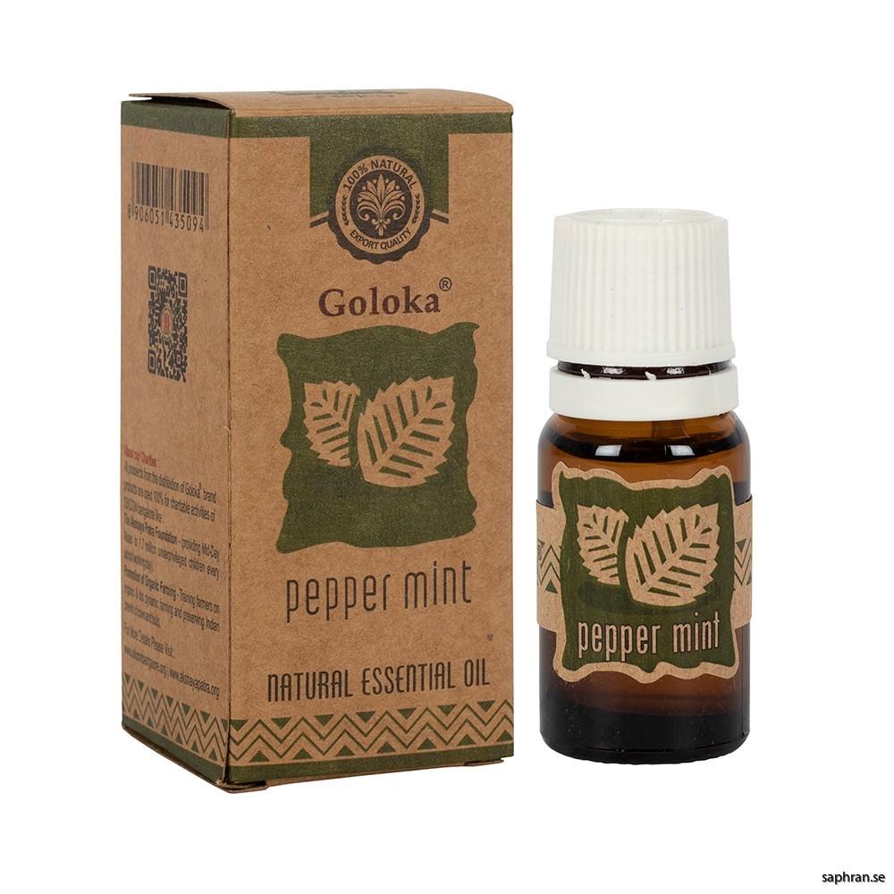 Goloka Eterisk olja Pepper mint 1