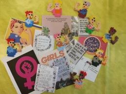 Internationella Kvinnodagen uppmärksammades med QUIZ om kvinnors rättigheter