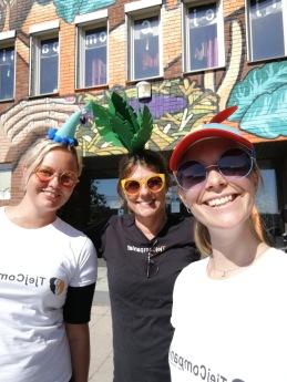 Personal Ida & Carina tillsammans med vikarie Sara <3