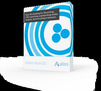 Alibre Design - Atom3D, inkl. ett års serviceavtal