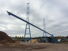 PST longest conveyor, 63,5 meter