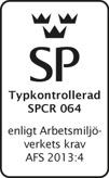 WO-tornet är typkontrollerat av SP i Borås