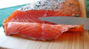 Gravlax sliced - Gravlax sliced 200 gr