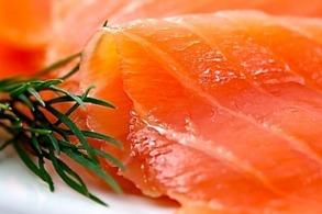 Rökt lax /smoked salmon - Smoked salmon 200 gr