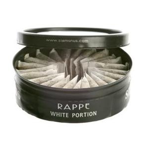 Portionsnus rappe - Portionsnus rappe white
