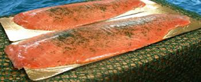 Cured salmon whole - Cured salmon whole