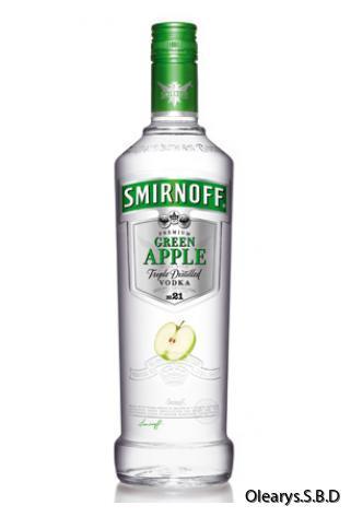 smirnoff green