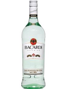 Bacardi White Rum - Bacardi White Rum 75cl