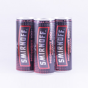 Smirnoff Midnight 100 - Smirnoff Midnight 200ml