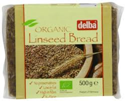Organic linseed bread