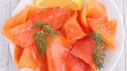Smoked salmon whole
