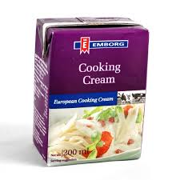 Cooking cream Emborg