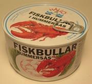 Fiskbullar i Hummersås