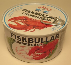 Fiskbullar i Hummersås - Fiskbullar i Hummersås 185g