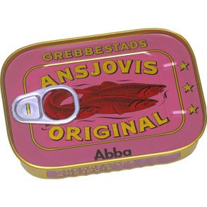 Grebbestads Anchovies - grebb Anchovies 125g