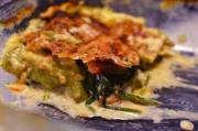 Lasagne salmon spinach