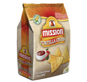 Tortilla chips spicy