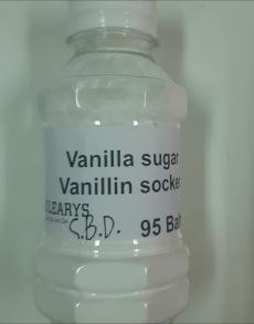 Vanilla sugar - Vanellin sugar 110 gr