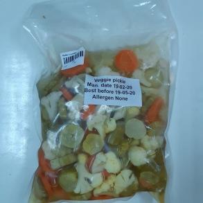 Pickles 1 kg - Veggie pickle 1 kg