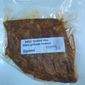 BBQ-Ribs approx 400 gr - BBQ-Ribs approx 400 gr