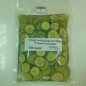 Smörgåsgurka/pickled cucumber - Pickled cucumber 600gr