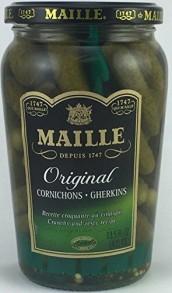 Cornichons Gurka - Maille cornichons 375 ml